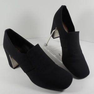Donald Pliner Clem Mirror Heel Black Pump Size 7